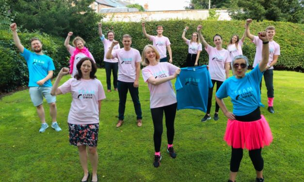 Clive Owen team gearing up for Race for Life