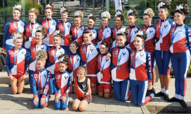 Mobile Mini sponsored team shines at Dance World Cup