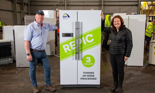REPIC and Gap Group (NE) Ltd celebrate achieving 3million tonne waste electronic (WEEE) recycling milestone