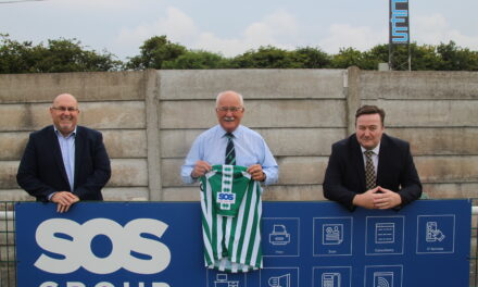 SOS GROUP STRENGTHENS SUPPORT FOR BLYTH SPARTANS
