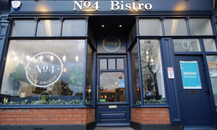 TRAVELLERS' CHOICE AWARD FOR No.4 Bar & Bistro