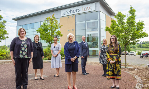 Law firm feeling great with eight new appointments