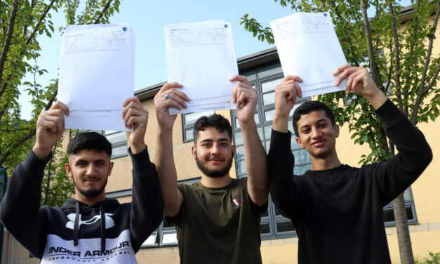 Celebrations at The King's Academy after a challenging two years