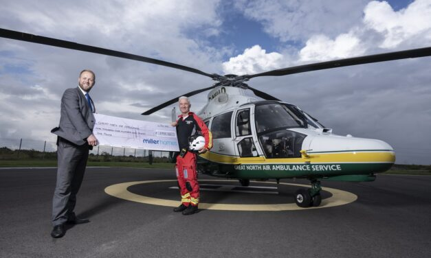 MILLER HOMES HELPS KEEP THE GREAT NORTH AIR AMBULANCE SERVICE FLYING HIGH