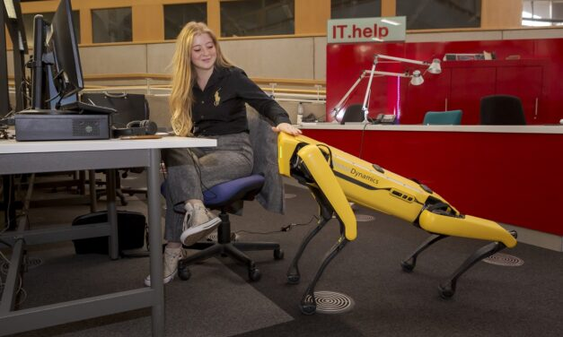 24-hours in the life of Robot Dog: the University of Sunderland's latest recruit