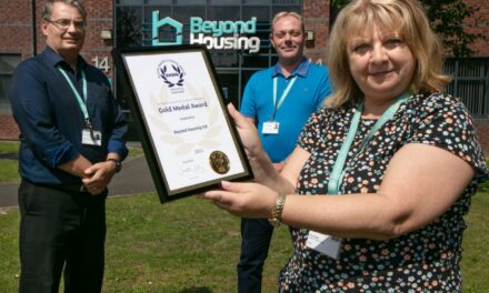 Beyond Housing receives health and safety gold award for eighth year running