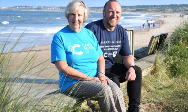 CHANNEL SWIMMER FROM BLYTH CALLS ON PEOPLE TO TAKE THE PLUNGE FOR SWIMATHON