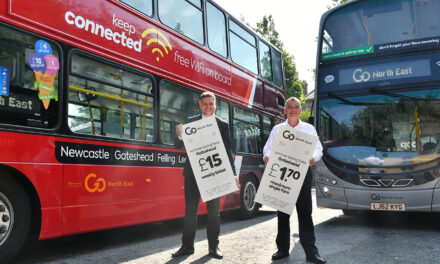 Better bus fares launched across Gateshead borough and beyond to encourage more people to use clean and safe buses as the region recovers