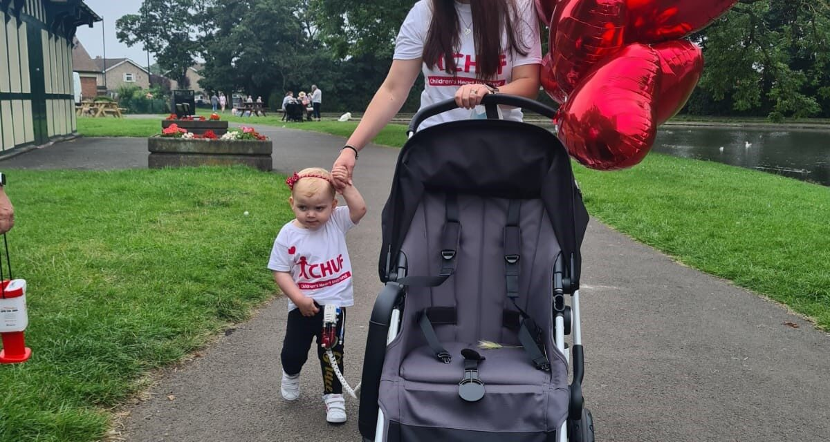 CHILD HERO PUTS HER HEART INTO RAISING FUNDS FOR NORTH EAST CHARITY