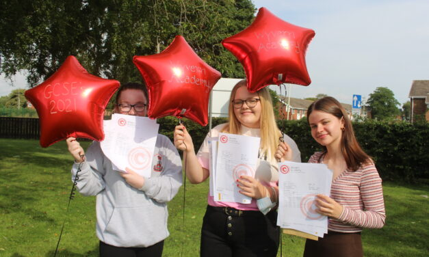 Time to celebrate for students at Wyvern Academy