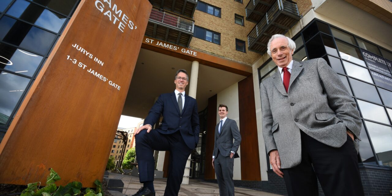 Multimillion-pound investment delivers new offices and major upgrade for St James Gate