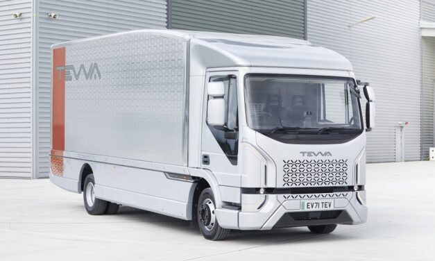 Tevva unveils bold new all-electric truck designed for the real world