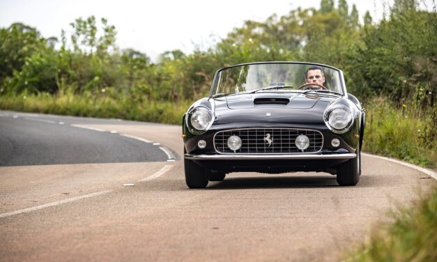 Reviving a legend: GTO Engineering launches California Spyder Revival as it makes world debut at Goodwood Revival