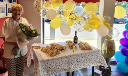 CARE HOME WORKER CELEBRATES 30 YEARS' SERVICE
