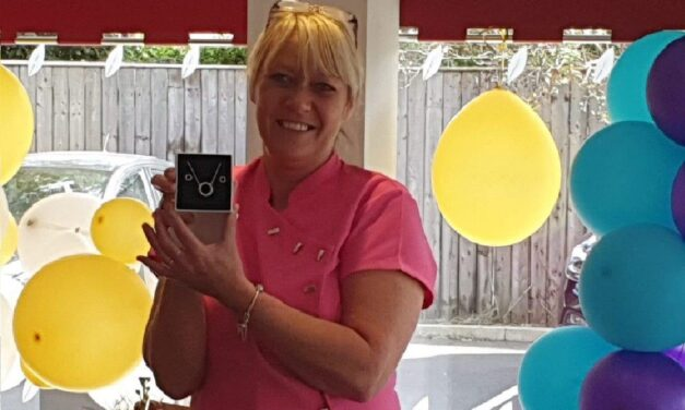 Care home worker celebrates 20 years' service
