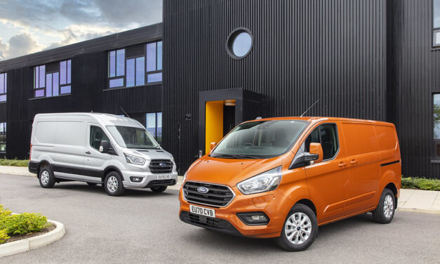 Ford No.1 for Vehicle Sales in August, with Transit Custom and Two-Tonne, Puma and Ranger the 4 Best Selling Vehicles in the UK