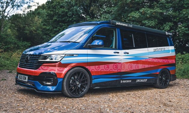 The Performance Transporter: Michelin star chef's one-of-kind Transporter conversion supporting world's best female cyclists