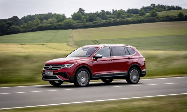 Tiguan Allspace: family-friendly seven-seater on sale from £32,135 OTR with package of new tech