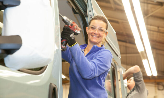 Erwin Hymer creates over 200 jobs as part of £15m investment into County Durham manufacturing facility.