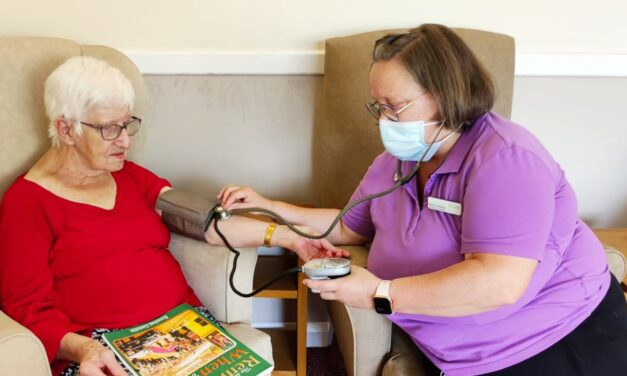 Know Your Numbers! Week at Teesside care home