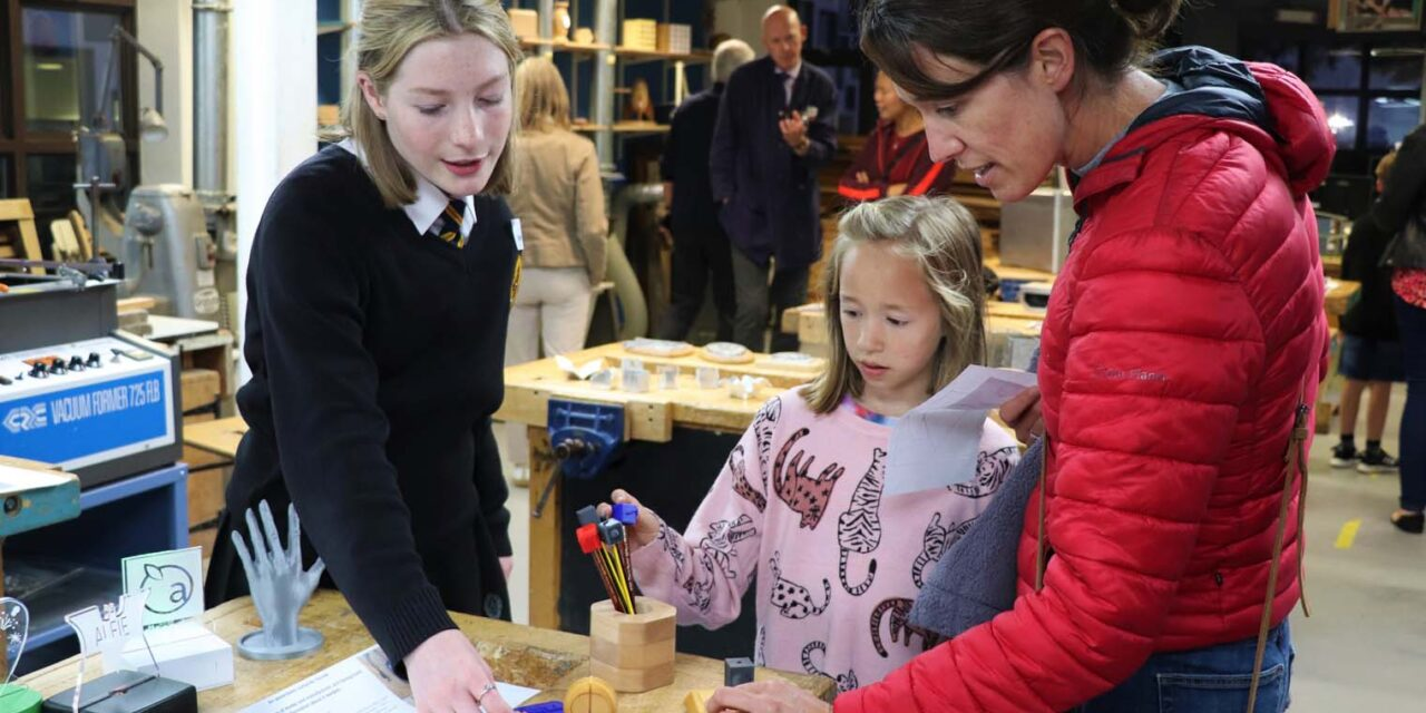 An air of excitement at Richmond School's open evening