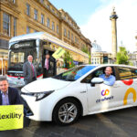Bus company and car club team up with new shared mobility solution to support car-free lifestyles