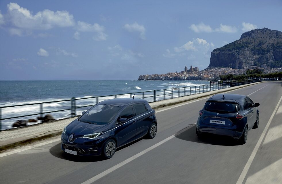 Renault adds the Riviera Limited Edition to the 100% electric Zoe E-Tech range
