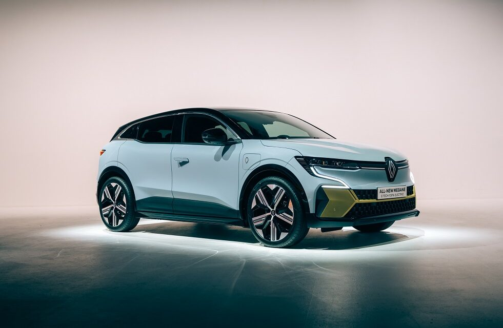 All-New Renault Mégane E-Tech Electric unveiled at the IAA Munich Mobility Show 2021