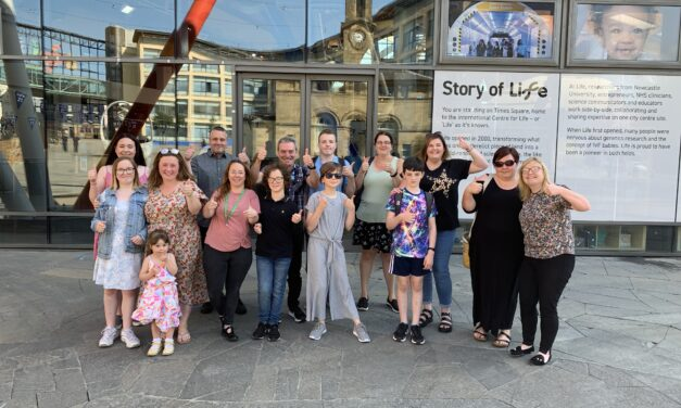 North-east charity celebrates ground-breaking partnership with Life Science Centre