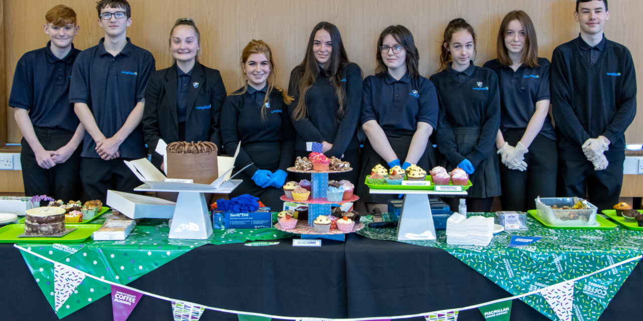 School coffee mornings raise pots of money for cancer charity