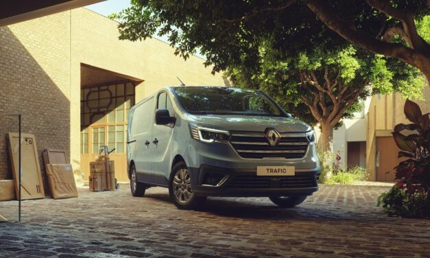Orders open for the New Trafic panel van from Renault PRO+