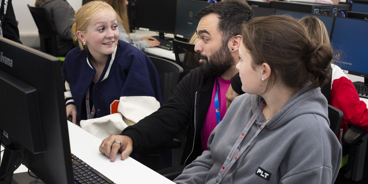 Newcastle College welcomes students to new £180,000 Digital Hub