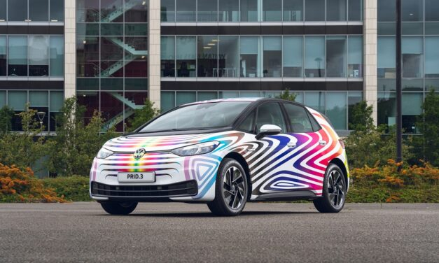 Volkswagen UK unveils PRID.3 as a symbol of its commitment to Diversity and Inclusion