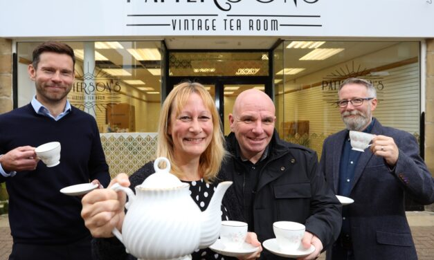 Tea Time In Consett As Local Couple Bring Gatsby Glamour To New Vintage Venue