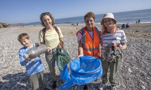 Take Part in the Tyne to Tees Great British Beach Clean 2021
