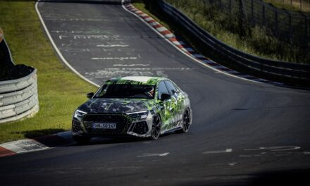 Lap record on the Nordschleife: Audi RS 3 fastest in the compact class