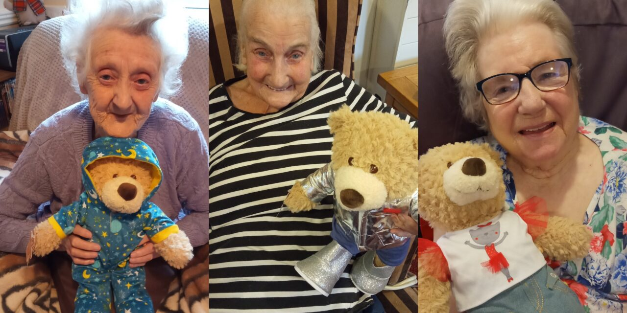 Care home sends teddies to child victims of war, poverty, and abuse