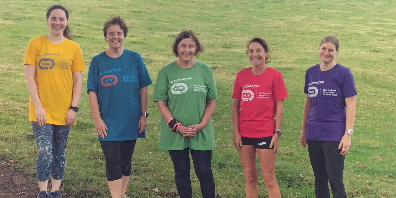 Runners around the world take on marathon challenge to support local track project