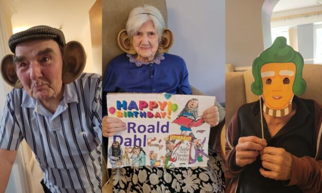 Roald Dahl characters come to life at Teesside care home