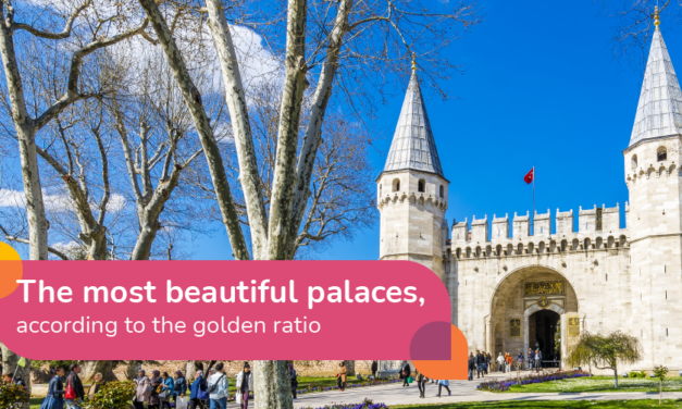 The world's most beautiful palaces, according to maths