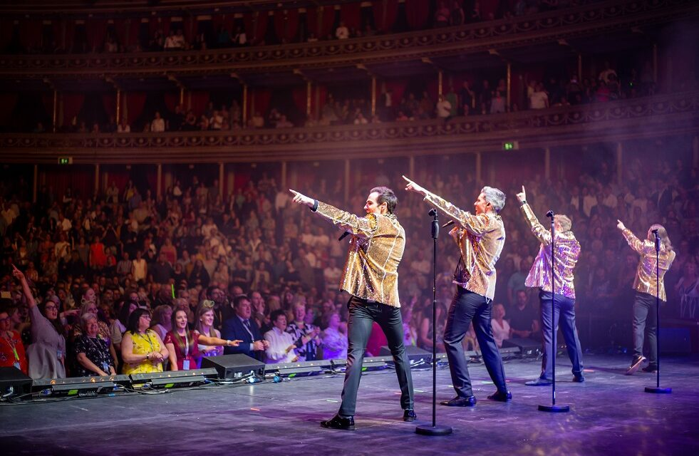 Collabro announce local youth choirs to join Greatest Hits Tour