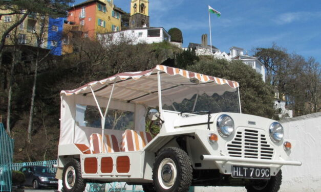 1965 'The Prisoner' Mini Moke to go under the hammer and set free at Silverstone Auctions sale at the NEC Classic Motor Show
