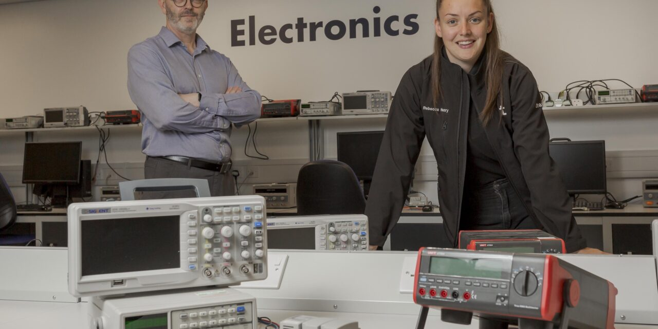 Rebecca engineers a rewarding career with a Degree Apprenticeship