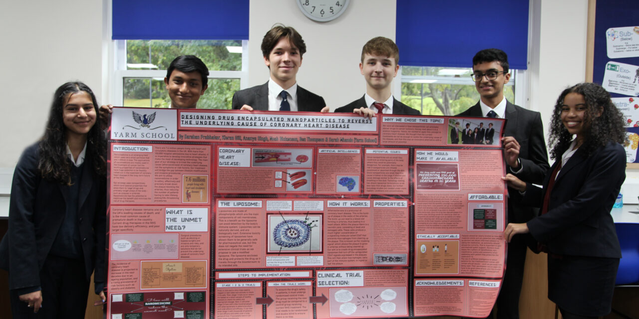 NATIONAL SCIENCE COMPETITION SUCCESS FOR YARM SCHOOL STUDENTS