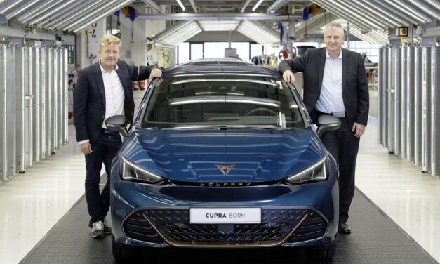 CUPRA begins a new era with the production of its first 100% electric car: the CUPRA Born