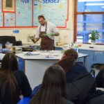 Chef goes back to school to inspire next generation