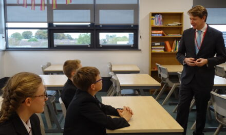 Minister of State for School Standards visits Cardinal Hume Catholic School in Gateshead