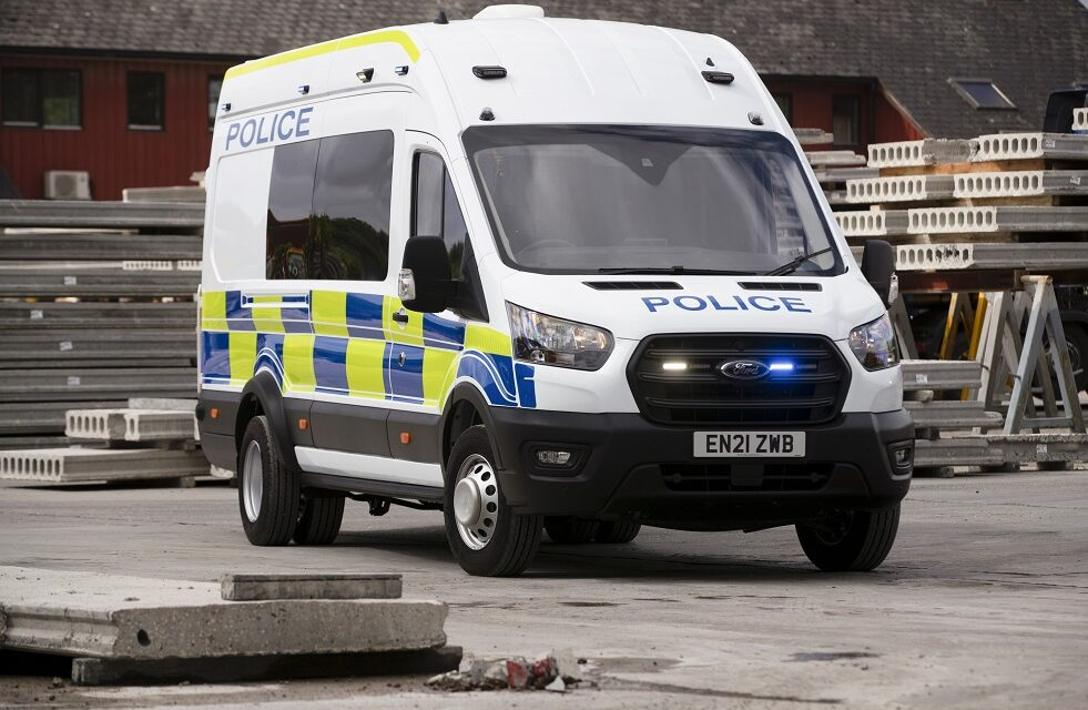 New Ford five-tonne Transit deployed to UK Police Forces