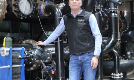 Calibrate Energy showcase innovative heat pump system to local businesses