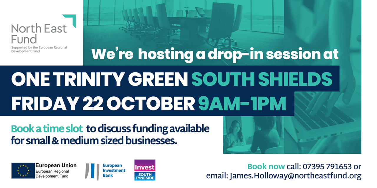 New Business Drop-In Sessions Offered to South Tyneside SMEs